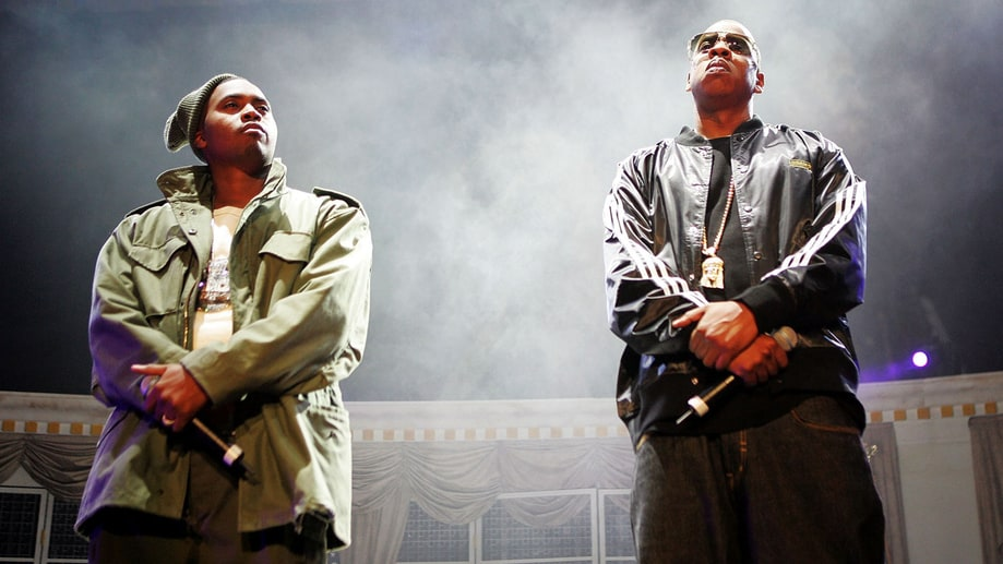 Jay Z and Nas