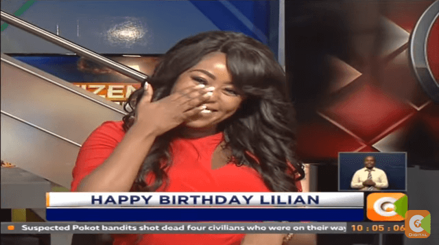 lillian muli - Team Machozi! Here are the Kenyan celebrities who've cried in public (PHOTOS)