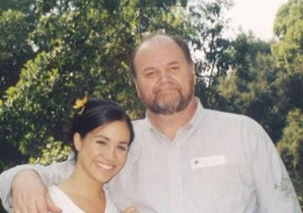 Meghan Markle and her dad