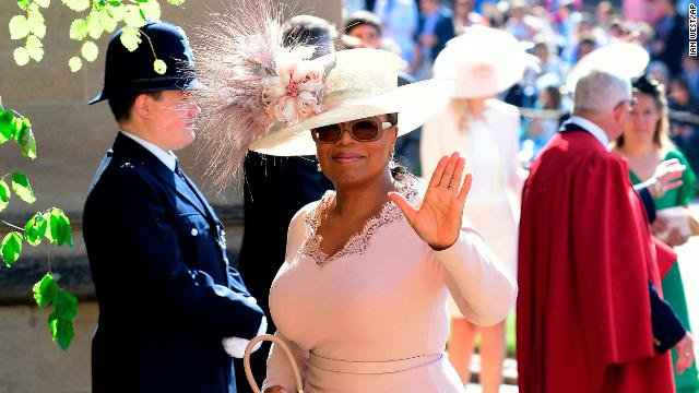 Clooneys, Beckhams and Oprah among celebrities at royal wedding