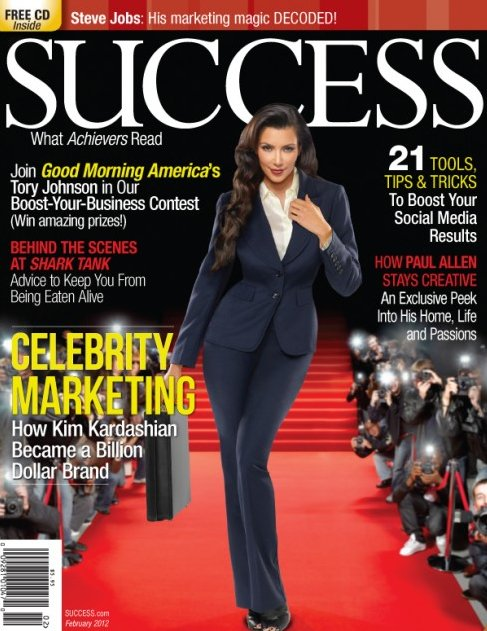 Kim Kardashian success