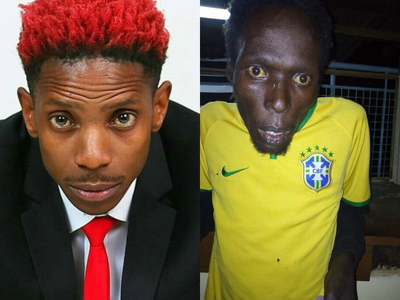 Comedian Eric Omondi and his brother Joseph Omondi