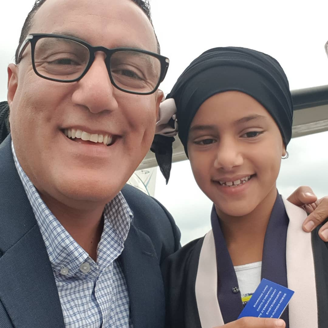 Najib and beautiful daughter - A father's good genes! Meet Najib Balala's beautiful daughter