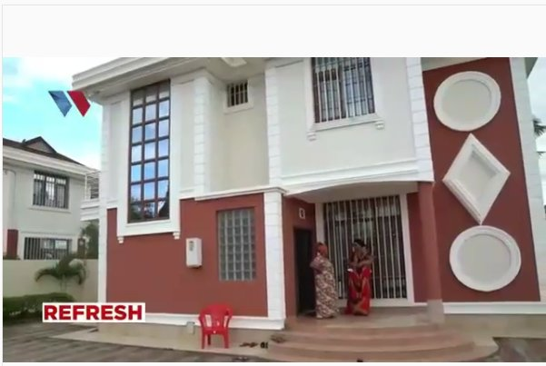 Hamisa Mobetto's son's house
