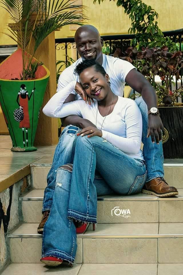 Kansiime and ex-hubby