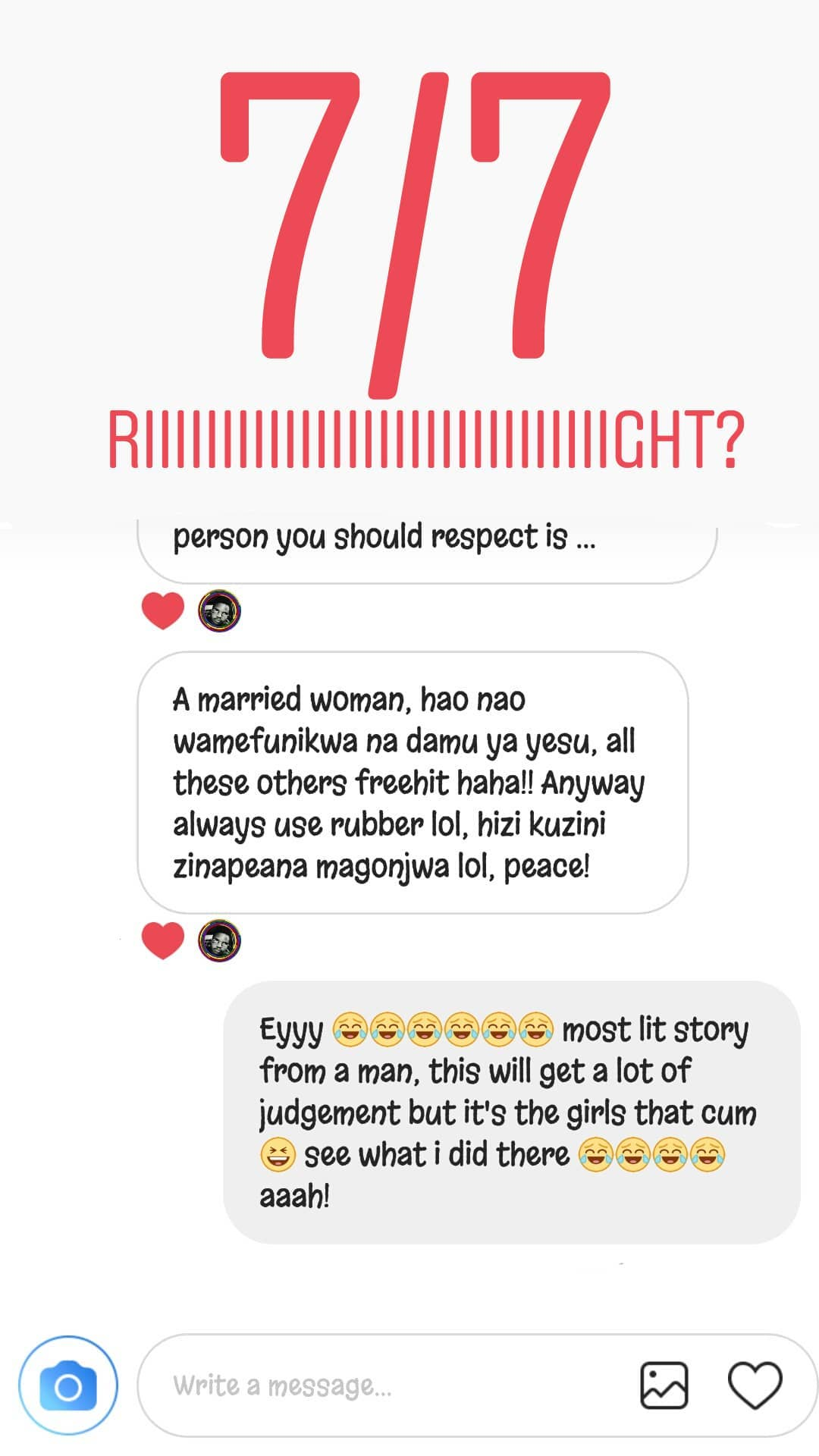 women 118 - 'I smashed my girlfriend's sister and she tasted better,' Kenyans talk about cheating