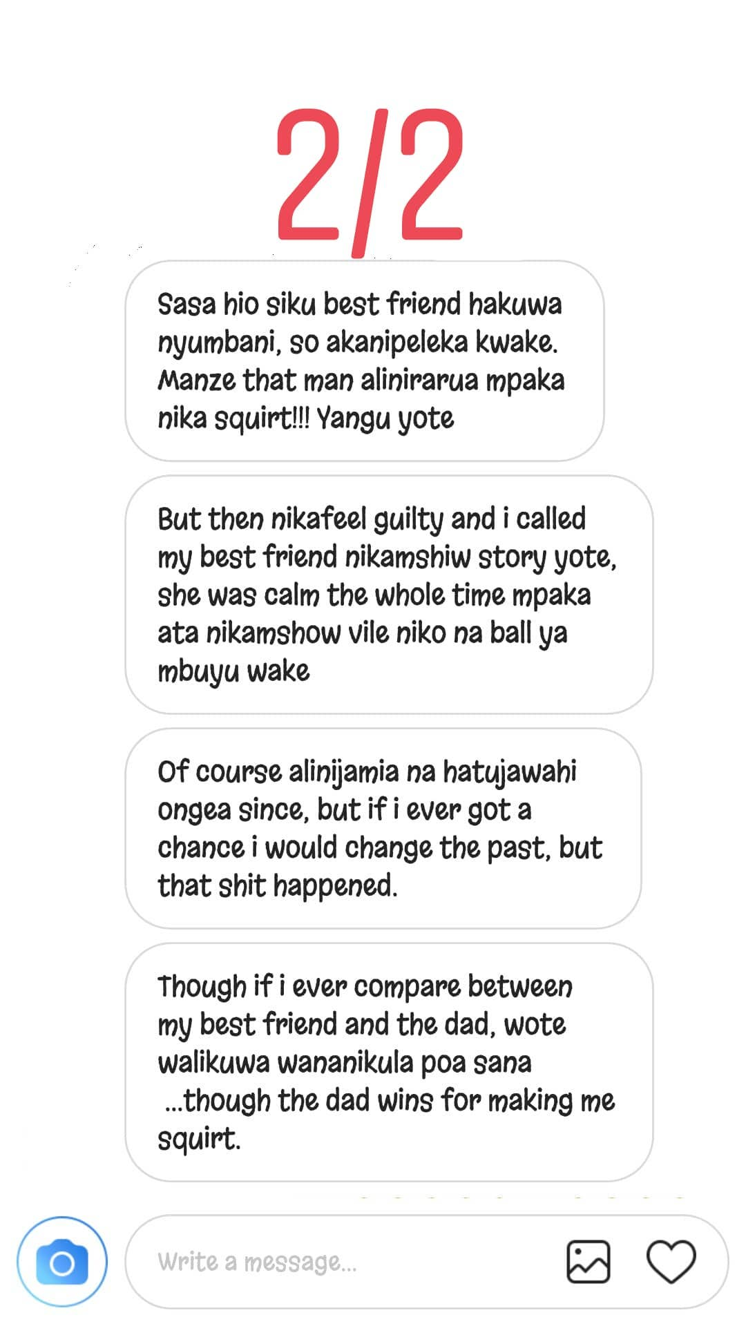 women 226 - 'I smashed my girlfriend's sister and she tasted better,' Kenyans talk about cheating