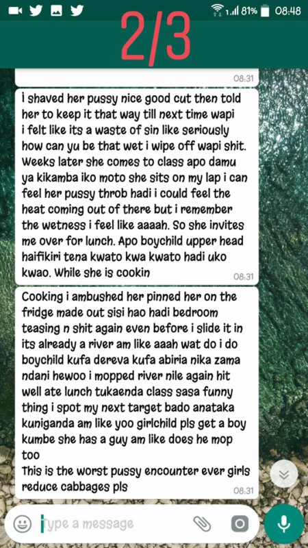 women5555 - 'I smashed my girlfriend's sister and she tasted better,' Kenyans talk about cheating