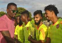 Mariga and the team