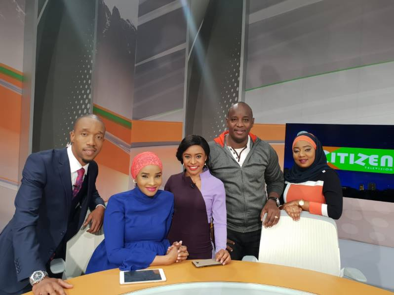 Citizen TV crew