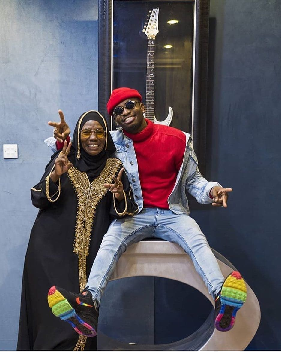6Diamond Platnumz and his mother - If I was Diamond, I'd let my deadbeat father die and here's why [OPINION]