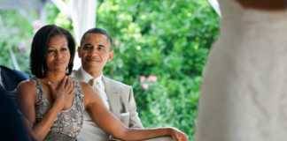 Barack_and_Michelle_Obama_watching_a_wedding