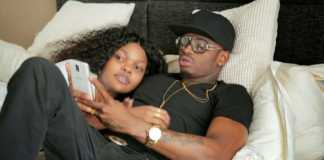 Diamond and Wema Sepetu