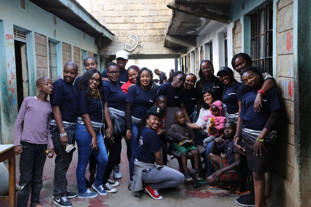 SportPesa visit TreeHouse Childrens Home