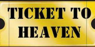 heaven ticket pastor