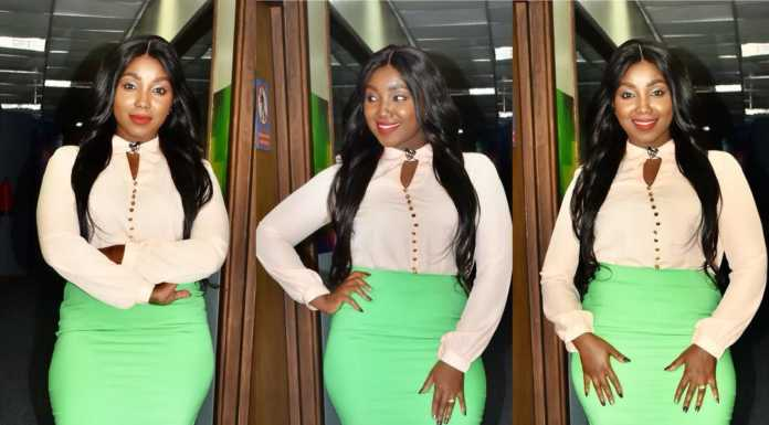 kate actress 119 696x385 - Like A Snack! Why Catherine Kamau is the best dressed female celebrity