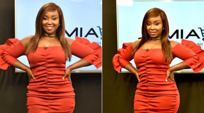 kate actress 9 696x385 - Like A Snack! Why Catherine Kamau is the best dressed female celebrity