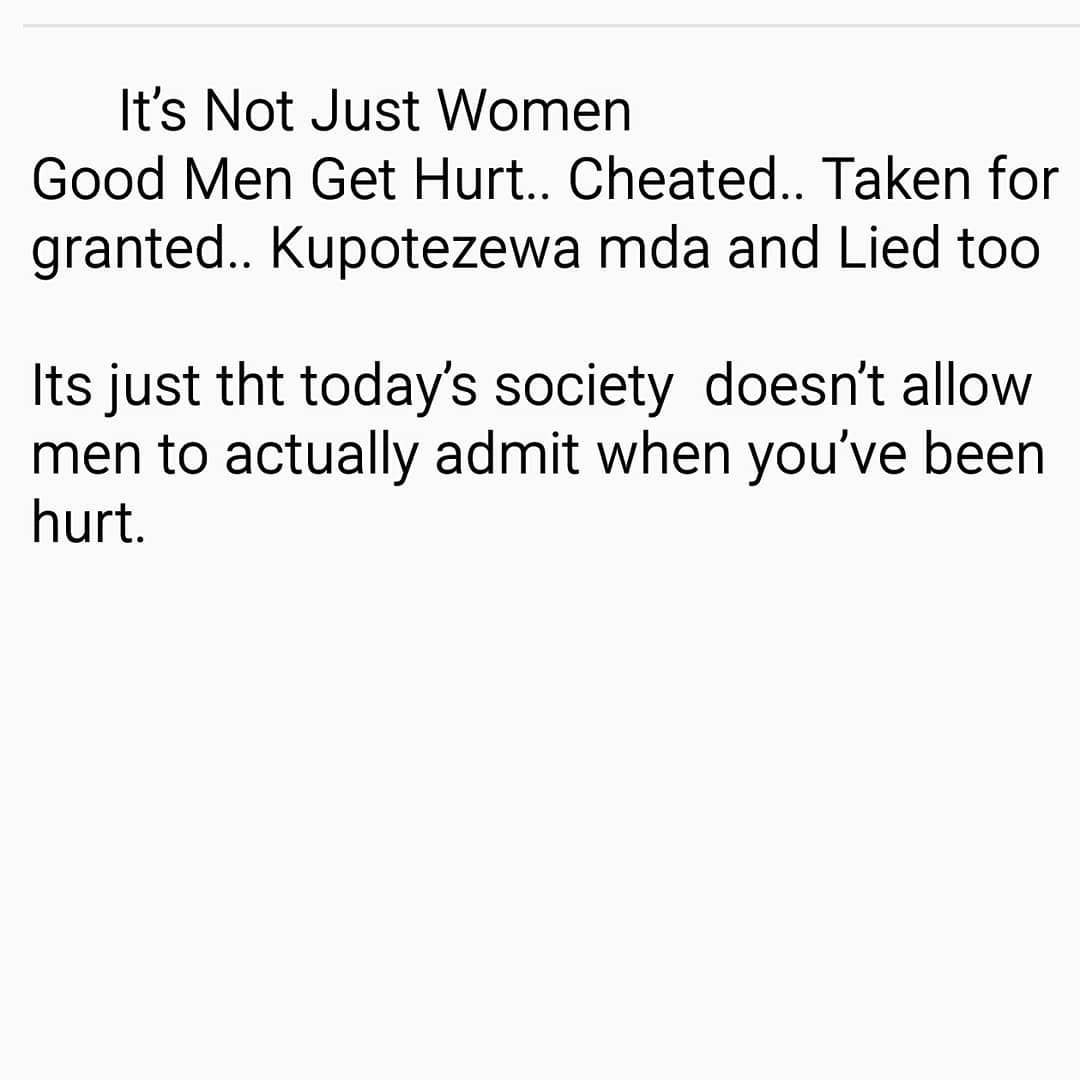 when a man has been hurt by a woman