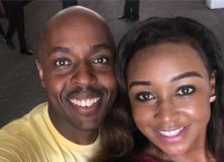 DJ Pinye and Betty Kyallo