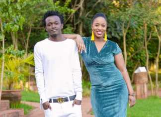 Bahati and his wife Diana Marua