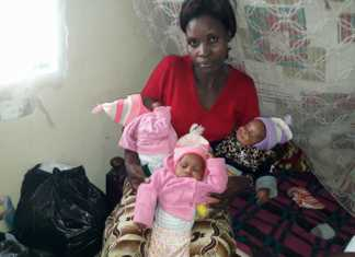 Mary and her triplets