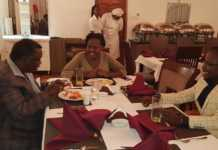 Atwoli and his wife Mary Kilobi