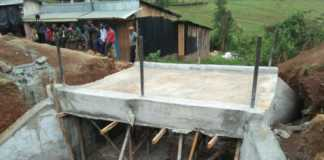 The bridge on Bomet County