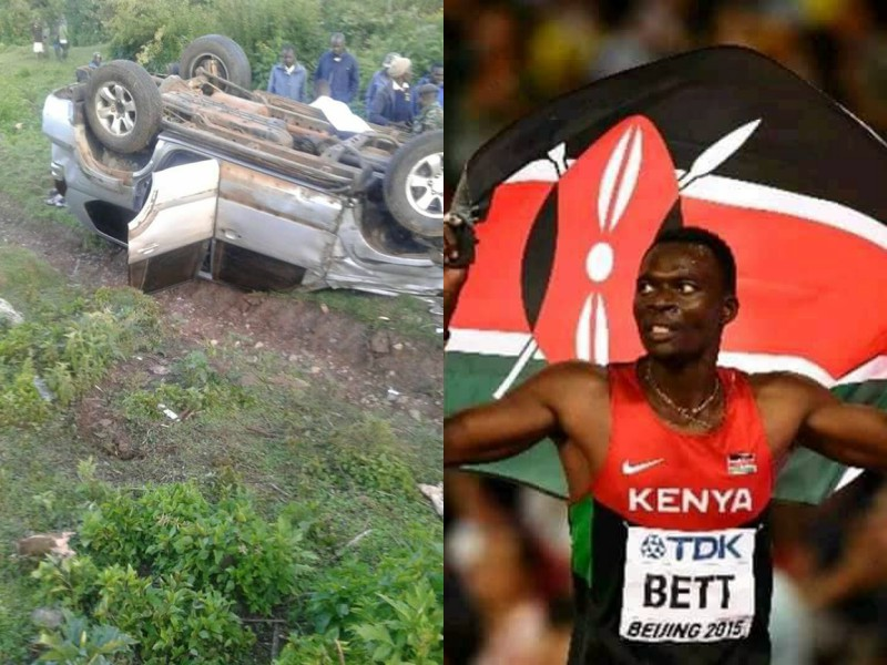 Nicholas Bett death - Apart from John De Mathew, other prominent Kenyans who perished in accidents