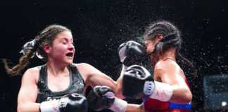 Mexican Yamileth Mercado takes on Italian Marisol Corona in a past fight /COURTESY