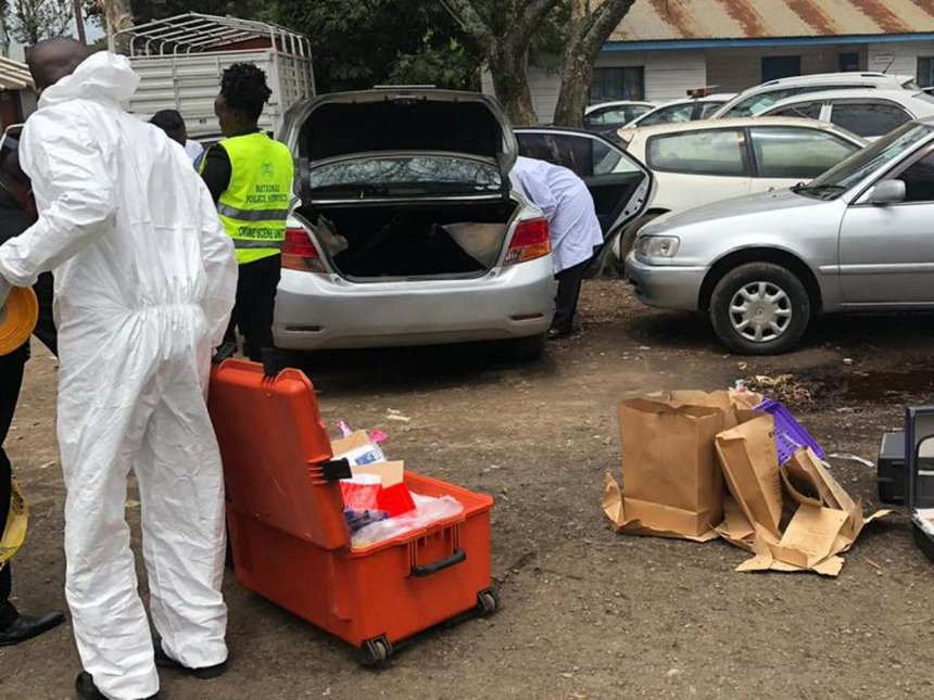 DCI sleuths dust Jackie Maribe's car at Kilimani police station
