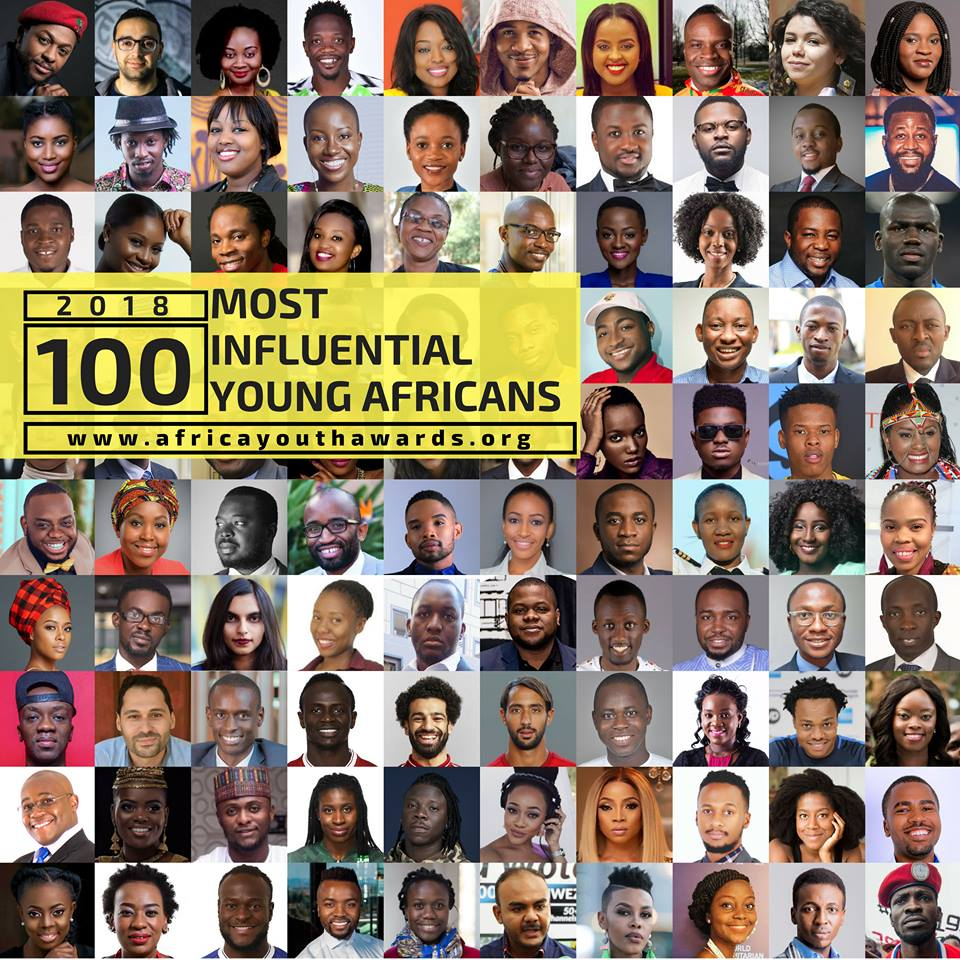 Top 100 influential young Africans list