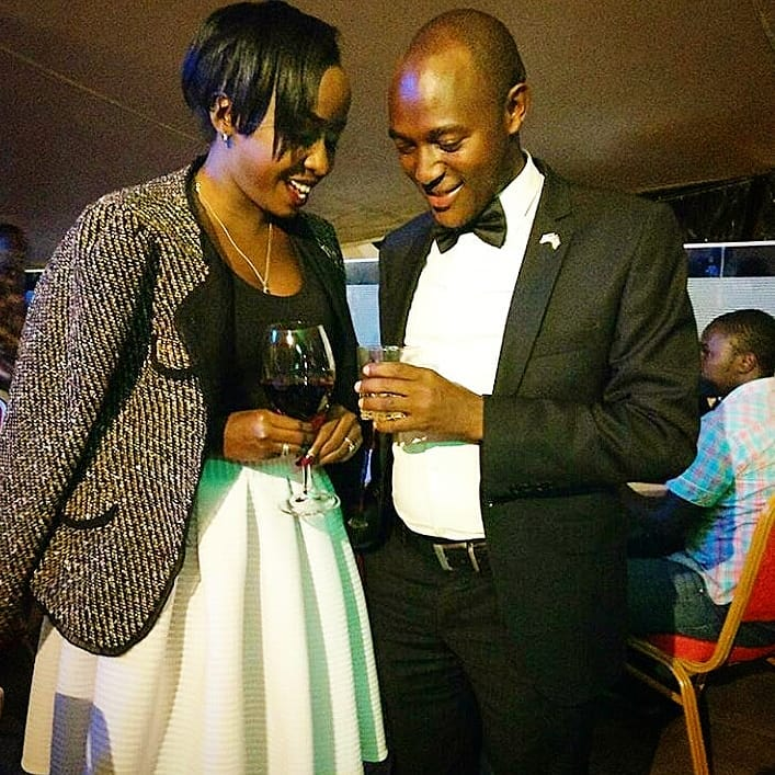 Citizen TV journalists Jacque Maribe and Steven Letoo