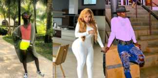 Vera Sidika and Victor Maina