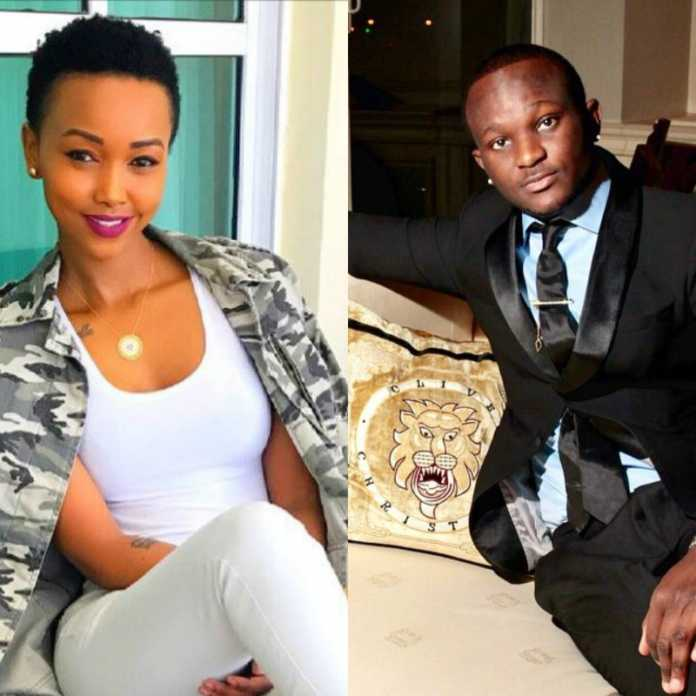Huddah Monroe and Godiamo