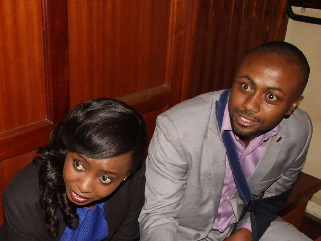 13 13 - From crying, slaying to ignoring each other: All the photos you did not see from Jacque Maribe and Jowie's court hearings