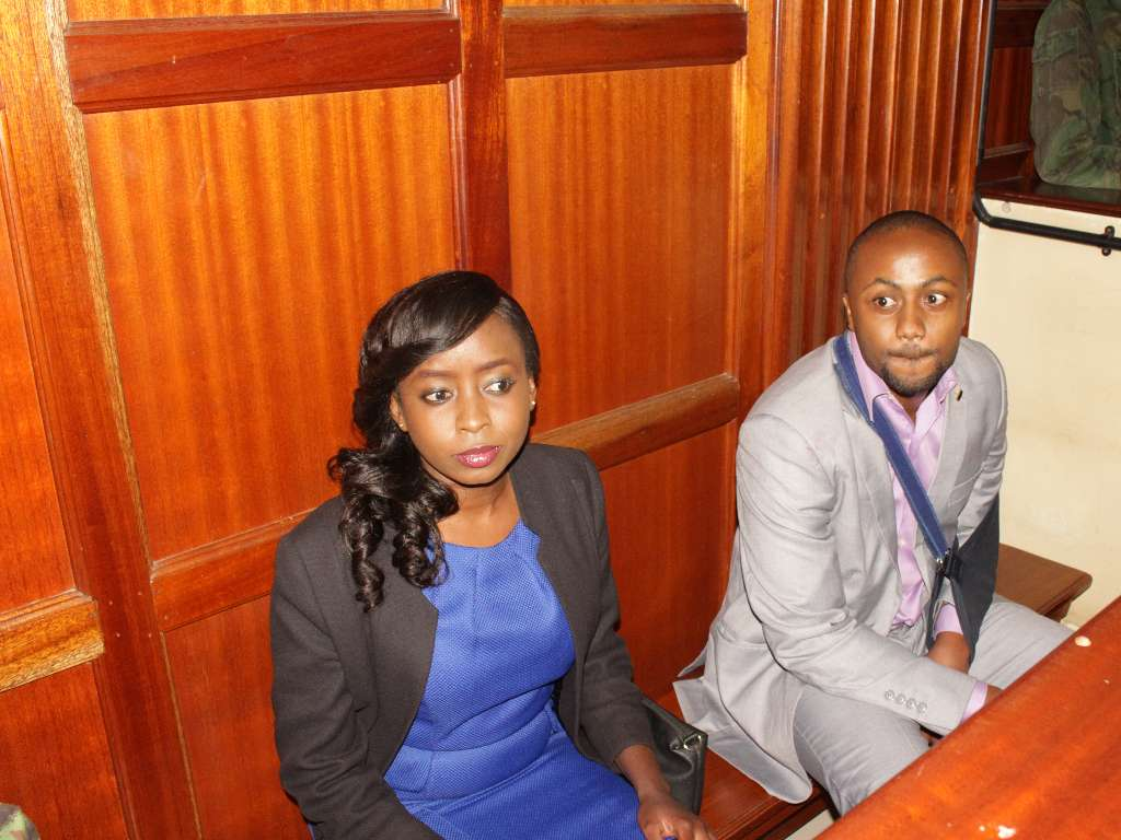 13 14 - From crying, slaying to ignoring each other: All the photos you did not see from Jacque Maribe and Jowie's court hearings