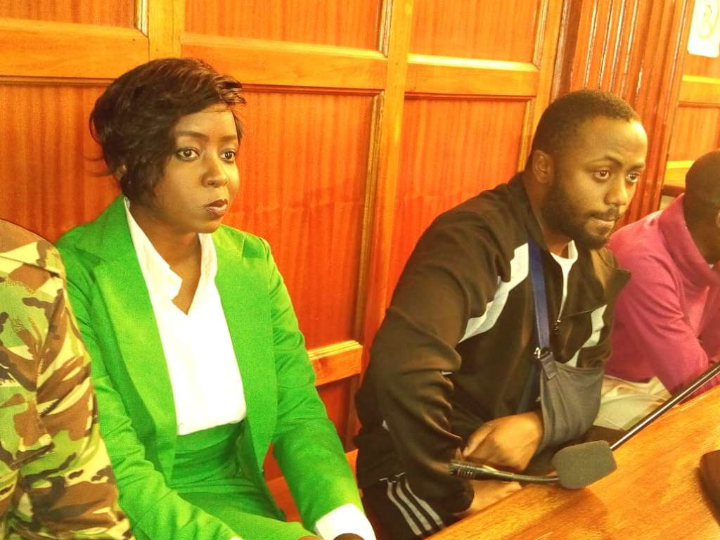 13 7 - From crying, slaying to ignoring each other: All the photos you did not see from Jacque Maribe and Jowie's court hearings