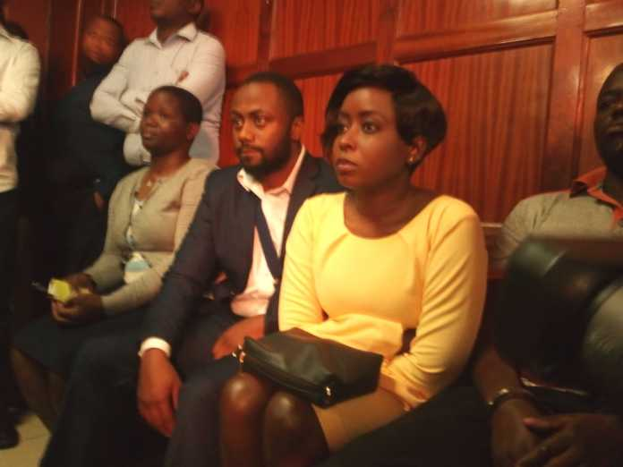 Jacque Maribe and Joe Irungui