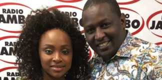Terrence Macharia and Massawe Japanni