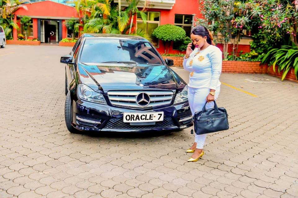 "43508905 2213328415616127 7833187678299357184 n - Rolling like a queen! Check out photos of Rev Lucy Natasha's expensive ""Oracle 7"" Mercedes Benz"
