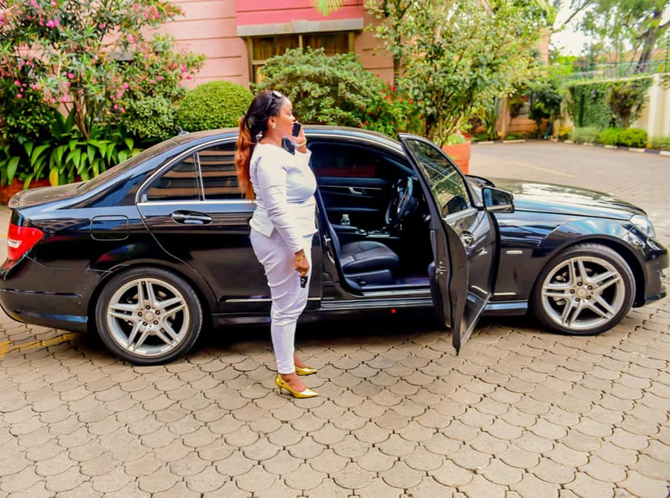 "43576880 306839133447636 7213037277415473152 n - Rolling like a queen! Check out photos of Rev Lucy Natasha's expensive ""Oracle 7"" Mercedes Benz"
