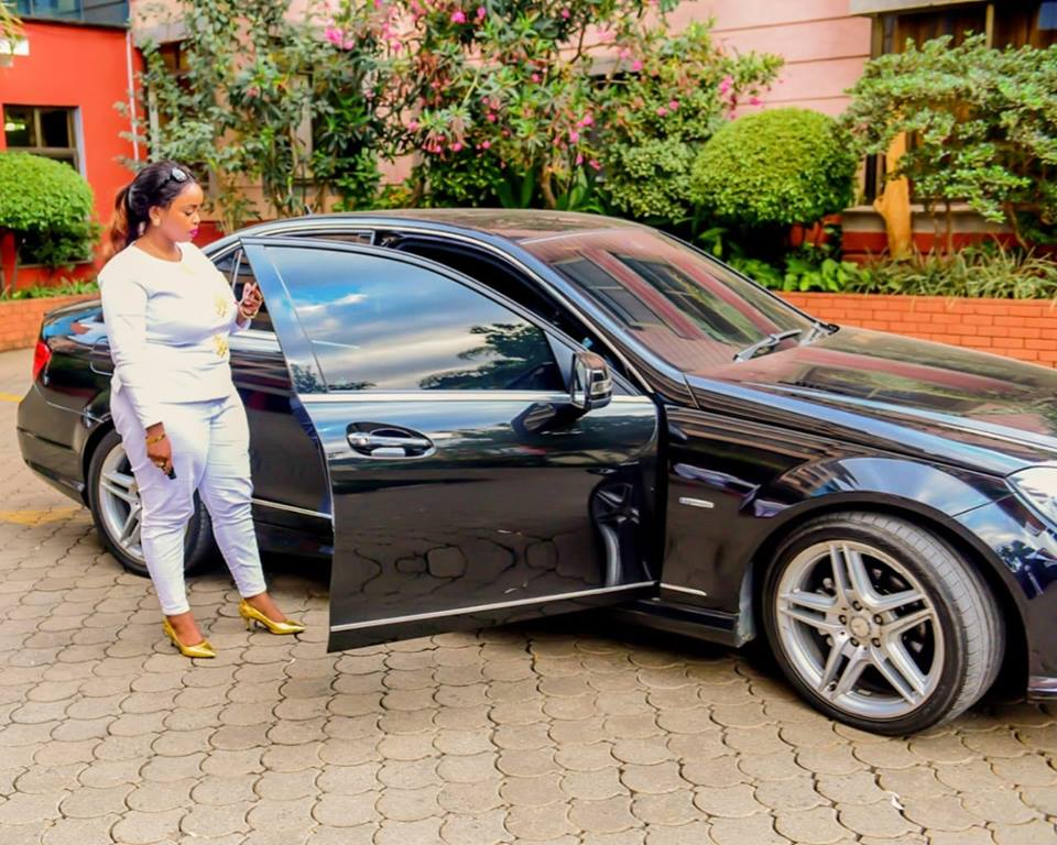"43586927 2213324565616512 5194923825396973568 n - Rolling like a queen! Check out photos of Rev Lucy Natasha's expensive ""Oracle 7"" Mercedes Benz"