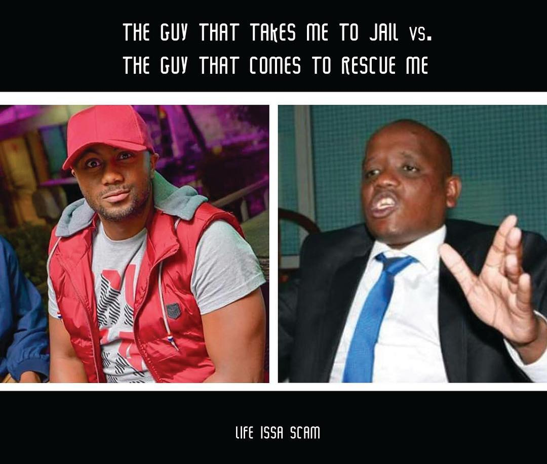 Joe vs Itumbi meme