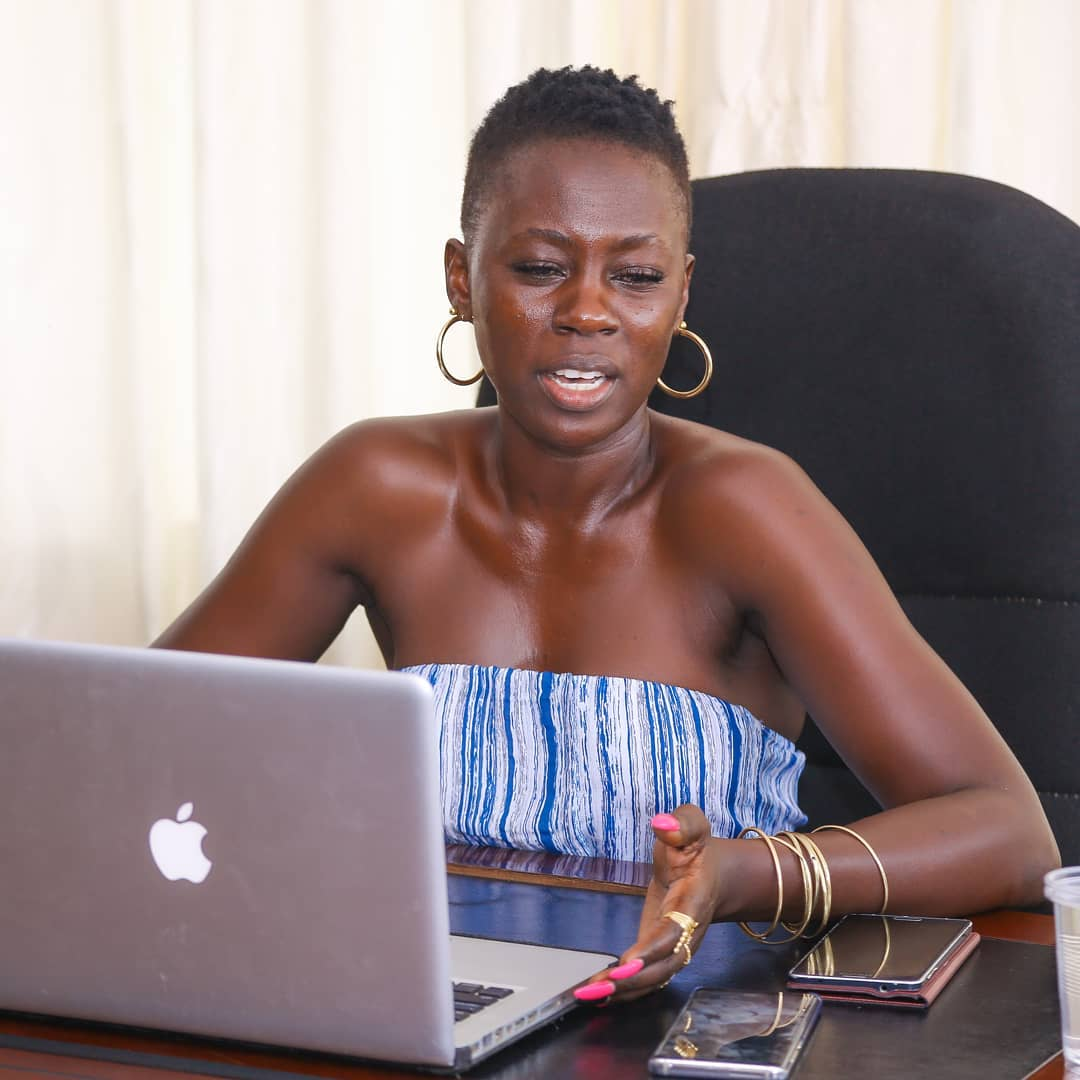 Akothee-pissed