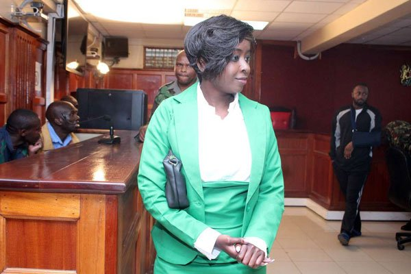 Dqv3uR8X0AE1YkW - From crying, slaying to ignoring each other: All the photos you did not see from Jacque Maribe and Jowie's court hearings