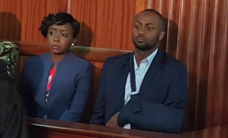 Dqv43yRWwAA9P91 - From crying, slaying to ignoring each other: All the photos you did not see from Jacque Maribe and Jowie's court hearings