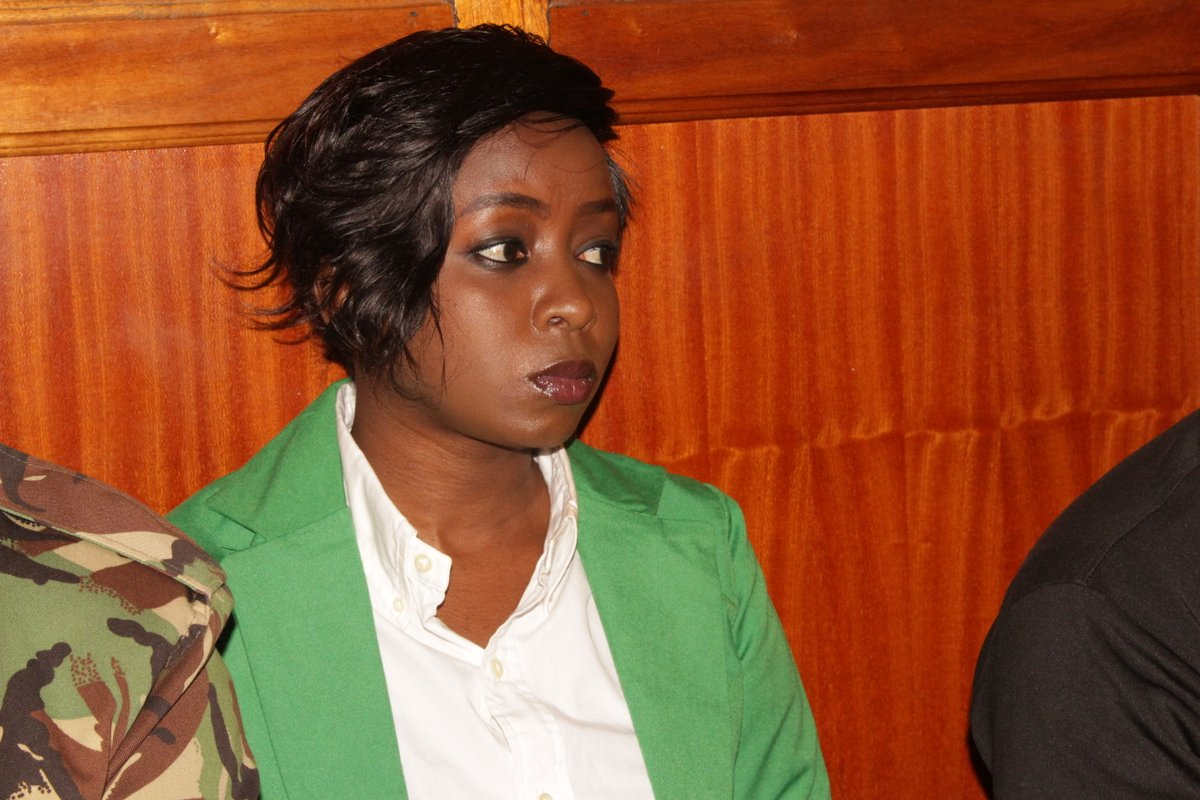 Dqv4PYTXQAAp499 - From crying, slaying to ignoring each other: All the photos you did not see from Jacque Maribe and Jowie's court hearings