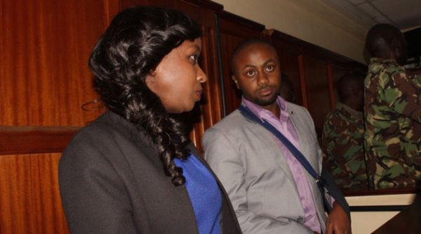 Dqv5J28XcAIu1RJ - From crying, slaying to ignoring each other: All the photos you did not see from Jacque Maribe and Jowie's court hearings