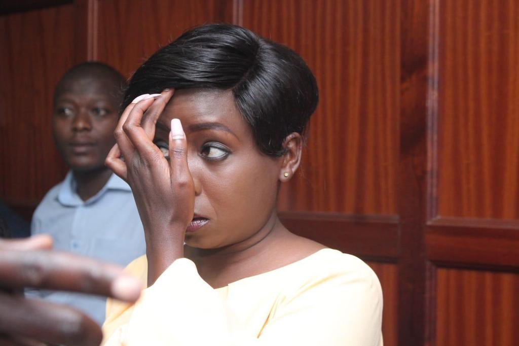 Dqv7rZTXcAASo2o - From crying, slaying to ignoring each other: All the photos you did not see from Jacque Maribe and Jowie's court hearings
