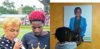 Eric Omondi and Jacque Maribe's son